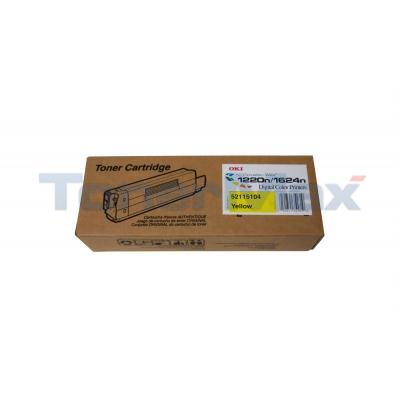 OKI ES1220N /ES1624N TONER YELLOW